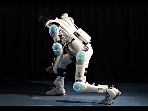 Cyberdyne Build Robots And Exoskeletons - BBC Click