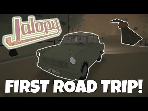 FIRST ROAD TRIP & HAUNTED KEYS! - Jalopy Gameplay EP 1 - Let's Play Jalopy