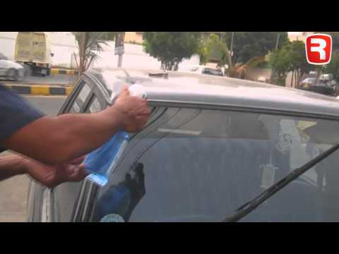 how to clean car windows with glass cleaner