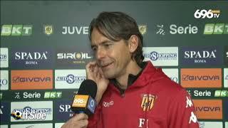 Il Commento Di Mister Inzaghi Al Termine Di Juve Stabia Benevento