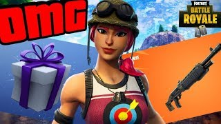 NEW RIOT SKIN + NEW GIFTING SYSTEM + GIFTING TO A SUBSCRIBER? (Fortnite Battle Royale)
