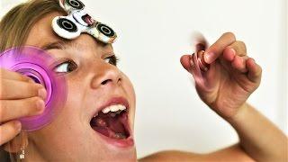 Fidget Spinner Challenge Спиннер Челлендж Fun Toys for Kids