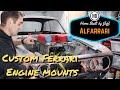 Making custom Ferrari engine mounts - Ferrari engined Alfa 105 Alfarrari build part 43