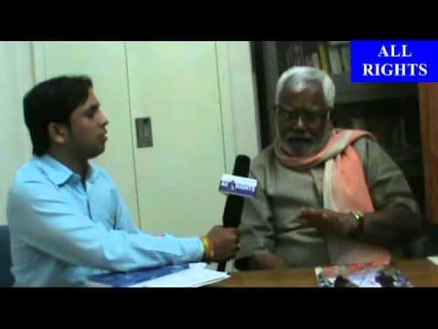 Interview of Hukumdev Narayan Yadav | ALL RIGHTS MAGAZINE | MP Madhubani