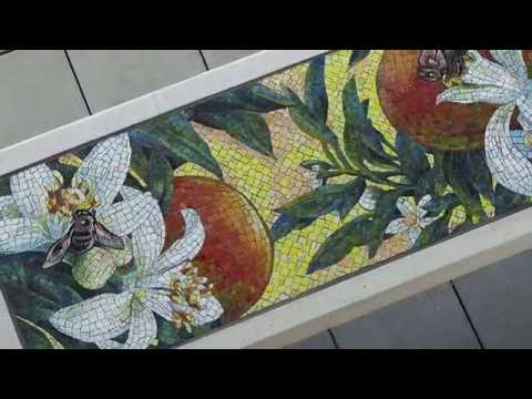APU/Citrus College Gold Line Station Art – Fabrication and Installation