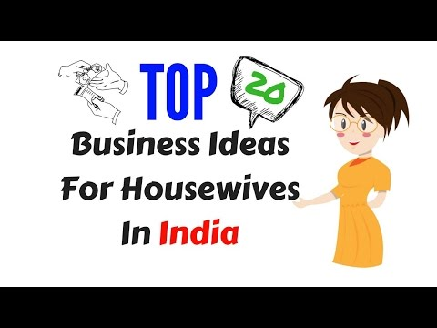 20 Small Business Ideas For Housewives
