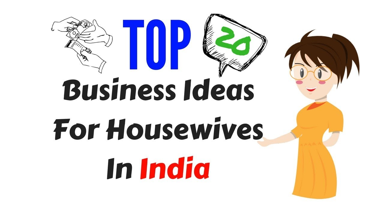 20 Small Business Ideas For Housewives - YouTube