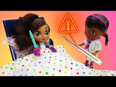 Доктор Плюшева и принцесса Нелла. Как вернуть настроение? Игры для девочек.