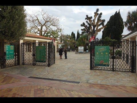 Jardin Exotique Monaco 2017