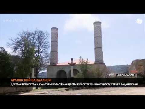 Свидетельства армянского вандализма: расстрелянные памятники