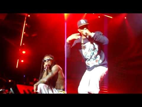 Lil' Wayne & T.I. performs Wit Me / Ball live @  America's Most Wanted Festival.[HD]