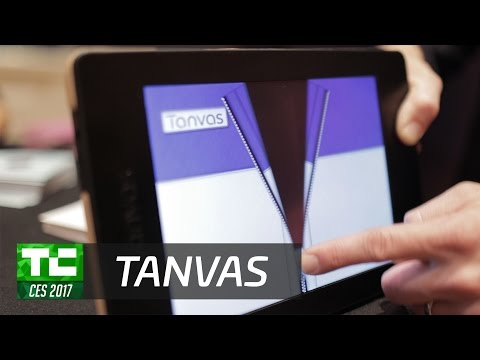 Tanvas is a tablet you can feel