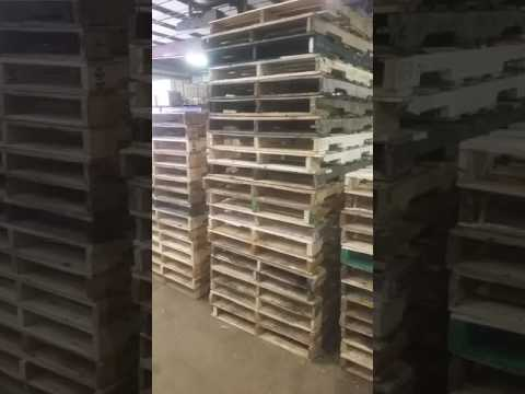 When you're good at what you do.n throwing pallets higher