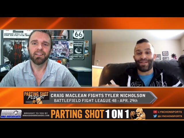 "BFL 48's Craig Maclean ""I've got better technical striking than Tylor Nicholson"""