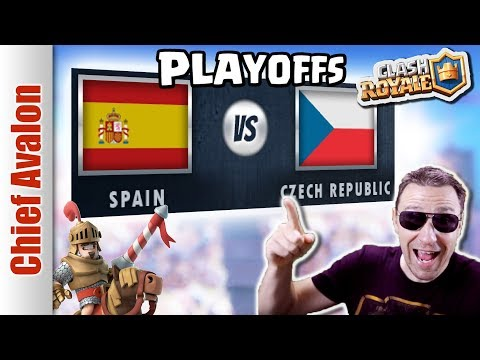 MGL WORLDS TOP 16 PLAYOFFS: SPAIN vs CZECH REPUBLIC - Clash Royale eSports