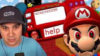 Mario HATES Bad Math... (just like Baldi...) | Baldi's Basics 64