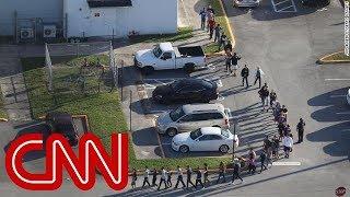 Student witness: I heard gunshots and ran