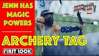 What is Jenn's Archery tag magic powers? | MyEG Sportify | Astro SuperSport