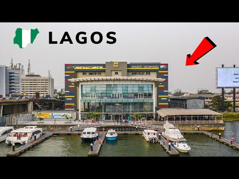 A Place You Wouldn'tBelieveExists In Lagos Nigeria! (water transport)