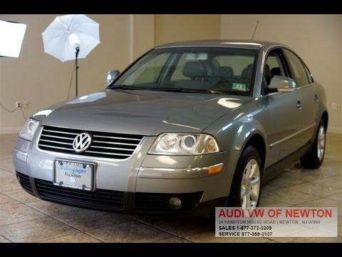 2004 Volkswagen Passat 1.8T GLS Sedan