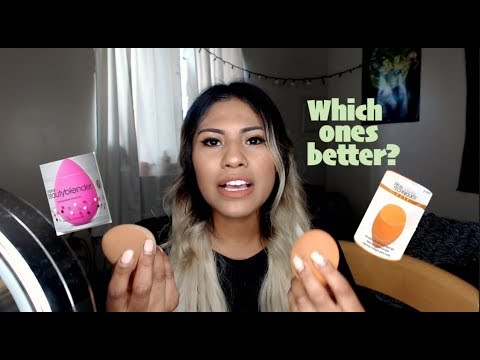 Beauty Blender VS Real Techniques Sponge