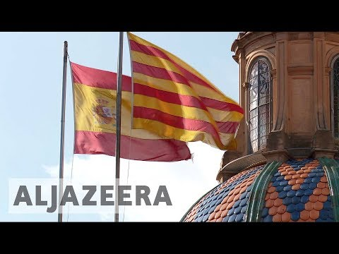Uncertainty in Catalan protests and anger in Spain
