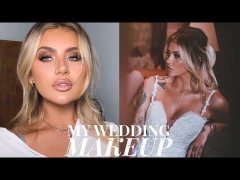 MY WEDDING MAKEUP - A BRIDAL TUTORIAL | JAMIE GENEVIEVE thumbnail