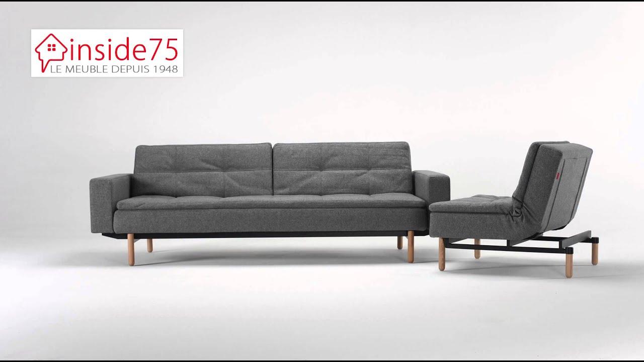 Www inside75 com canap lit dublexo sofa with armrest for Inside75 canape ego