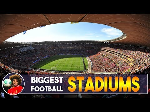 Biggest Football Stadiums in the world (by capacity)