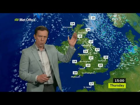 Wednesday evening forecast 20/06/2018