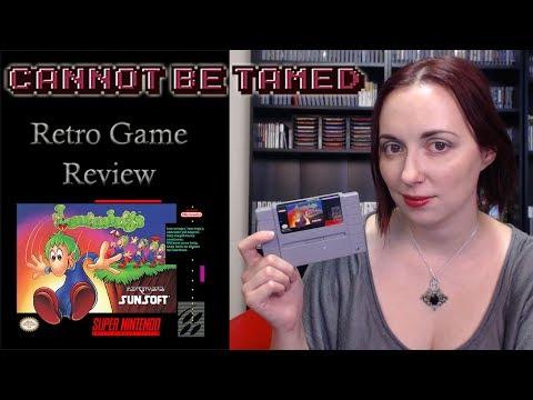 Lemmings (SNES) - Retro Game Review