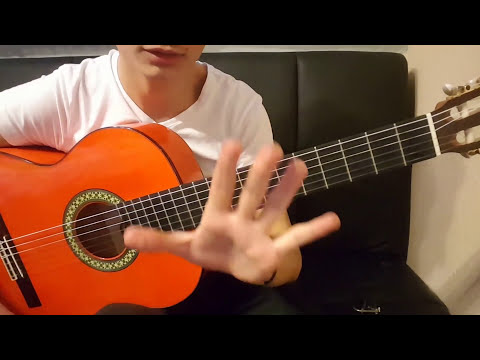 Rumba flamenco two Falsetas lesson 3