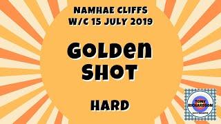 Golf Clash - Golden Shot (Hard) with CHEAT SHEET (Namhae Cliffs, w/c 15 July 2019)