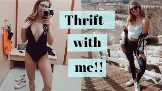 Come thrifting with me for Spring 2019 | can't stop won't stop