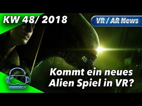 Virtual Reality News (Wochenrückblick KW48/18) Alien VR Spiel, Borderlands 2 VR PC, PSVR Megapack
