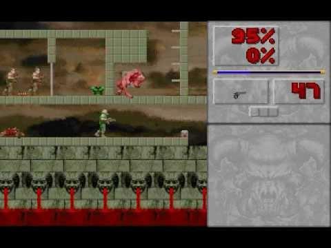 DOS Game: DOOM 2D