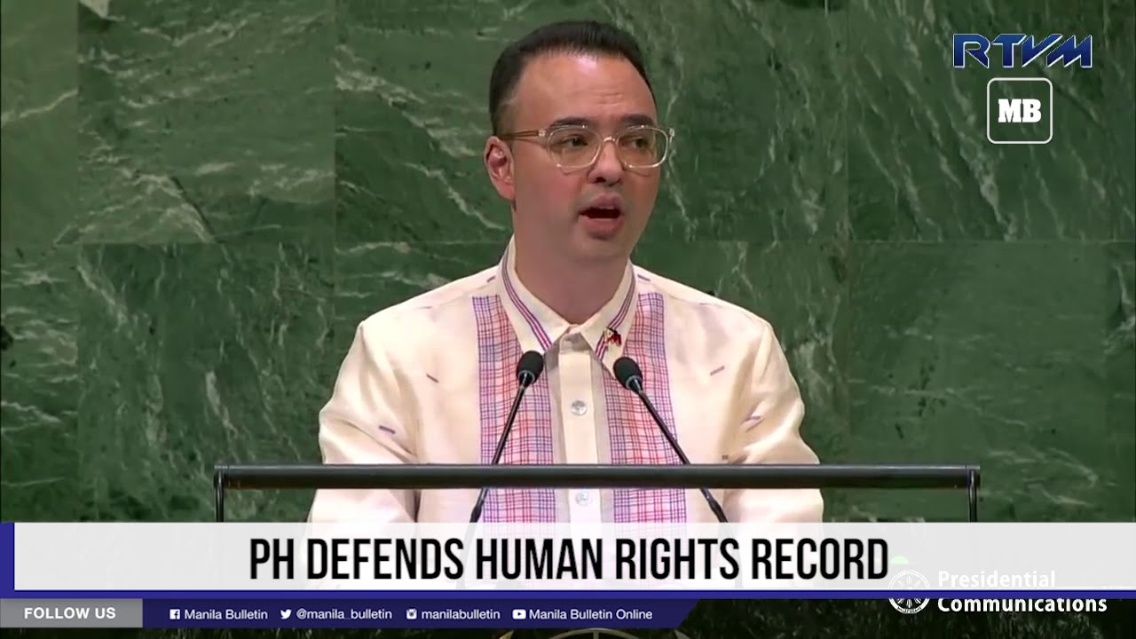 PH defends human rights record