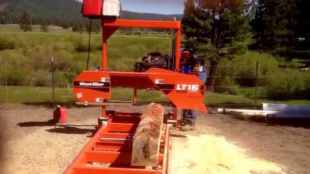 Woodmizer LT15 Wide Head Saw Mill