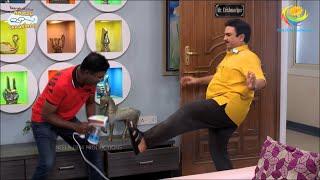 Iyer Sanitizes Jethalal | Taarak Mehta Ka Ooltah Chashmah Comedy | तारक मेहता Ep 2962 - 3rd Aug 2020