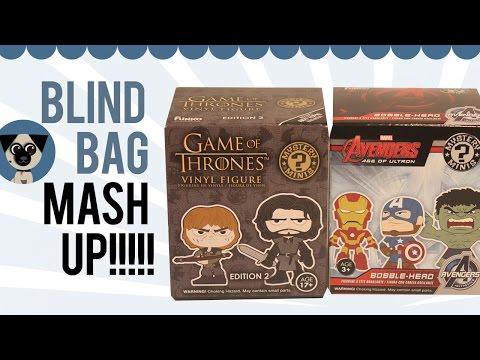 Blind Bag Mash Up: Game Of Thrones Vs Avengers Mystery Minis