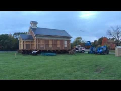Livonia One Room School House Move (Prep)