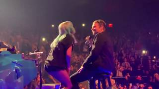 Bradley Cooper Lady Gaga Shallow Live at Park Theater Las Vegas Video