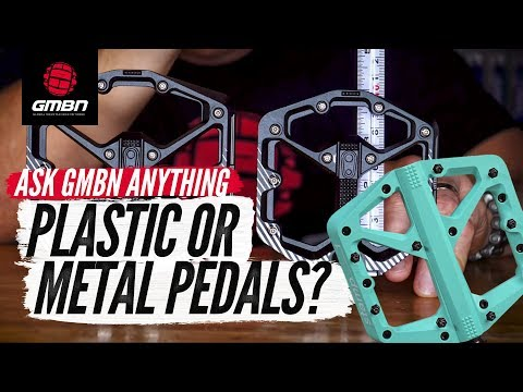 Should I Upgrade My Plastic Pedals To Metal? | Ask GMBN Anything About Mountain Biking