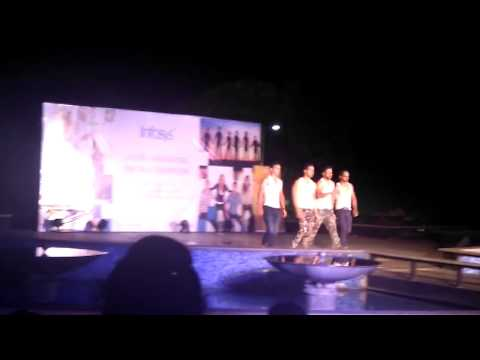 Infosys STP campus hyderabad fashion show