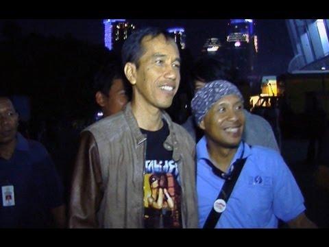 Joko Widodo Nonton Konser Metallica Was Was 917 Seg 1 26 Agustus 2013