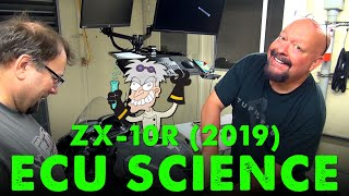 Kawasaki Ninja ZX 10R 2019 ECU Flashing with Mad Scientist Don Guhl