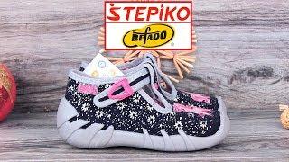 Детские текстильные мокасины Befado Speedy 110P328. Видео обзор от STEPIKO