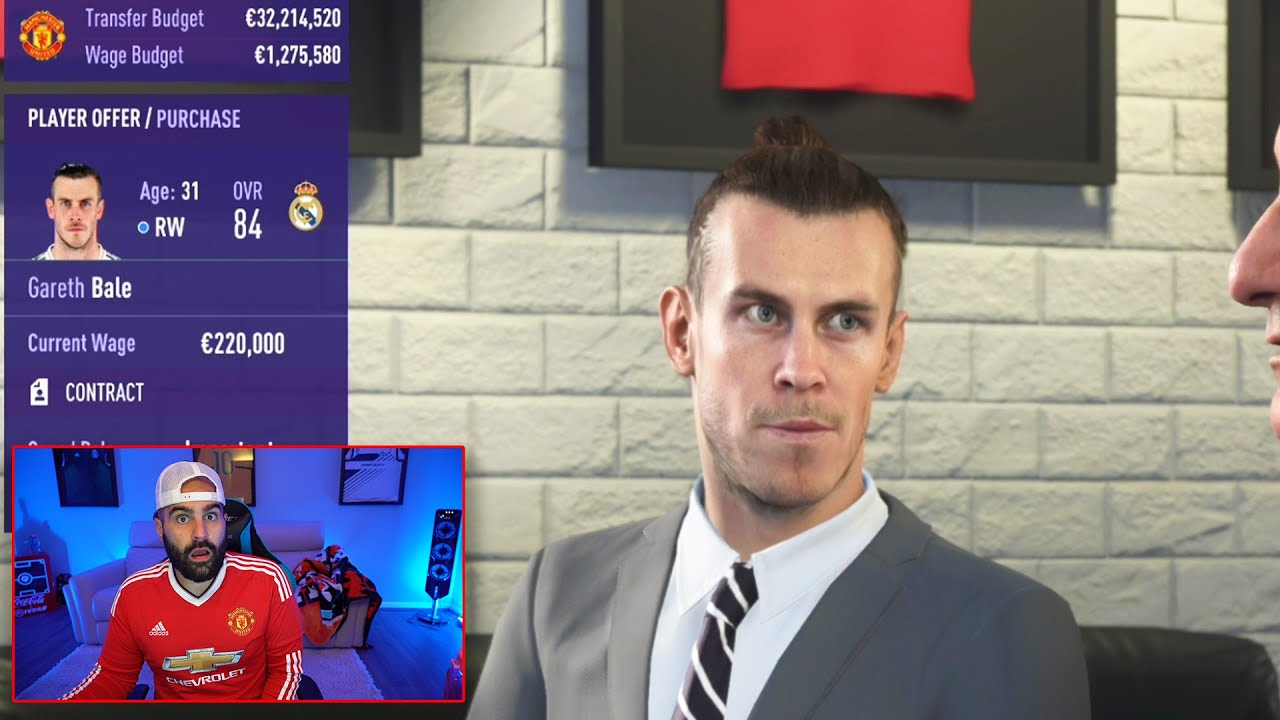OMG BALE SIGNS FOR MANCHEST UNITED!!! FIFA 21 Career Mode