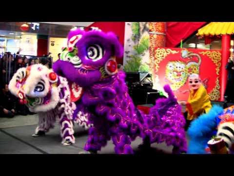 Party Rock Anthem Lion Dance Performance 2012