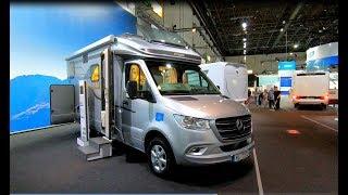 Hymer ML T 570 all new Camper Van Mercedes Sprinter 314 CDI walkaround and interior K41